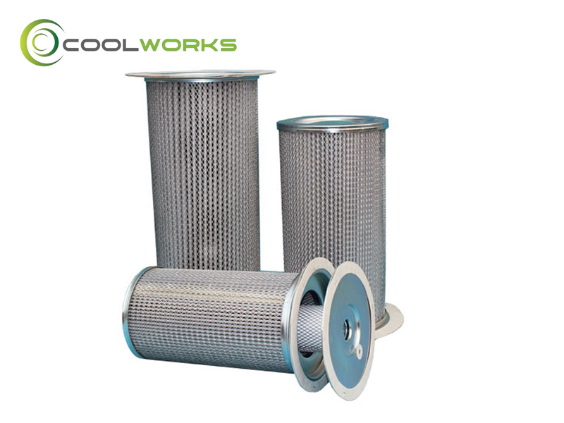 Oil-air separation filter( answer the question from the clients )